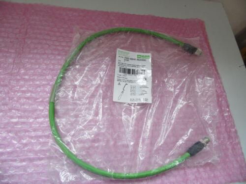 nuevo Murr 7000-46041-8020060 conector m12 en bu m12 blindados verde 0,6m