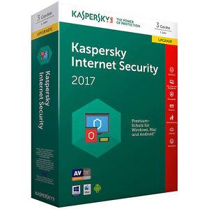 kaspersky internet security 2017 upgrade 3 lizenzen pc. Black Bedroom Furniture Sets. Home Design Ideas