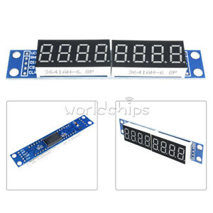For Arduino MAX7219 LED Dot Matrix 8-Digit Digital Tube Display Control NEW