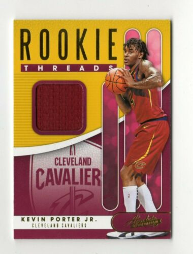 KEVIN PORTER NBA 2019-20 ABSOLUTE MEMORABILIA ROOKIE THREADS LEVEL 1 CAVALIERS