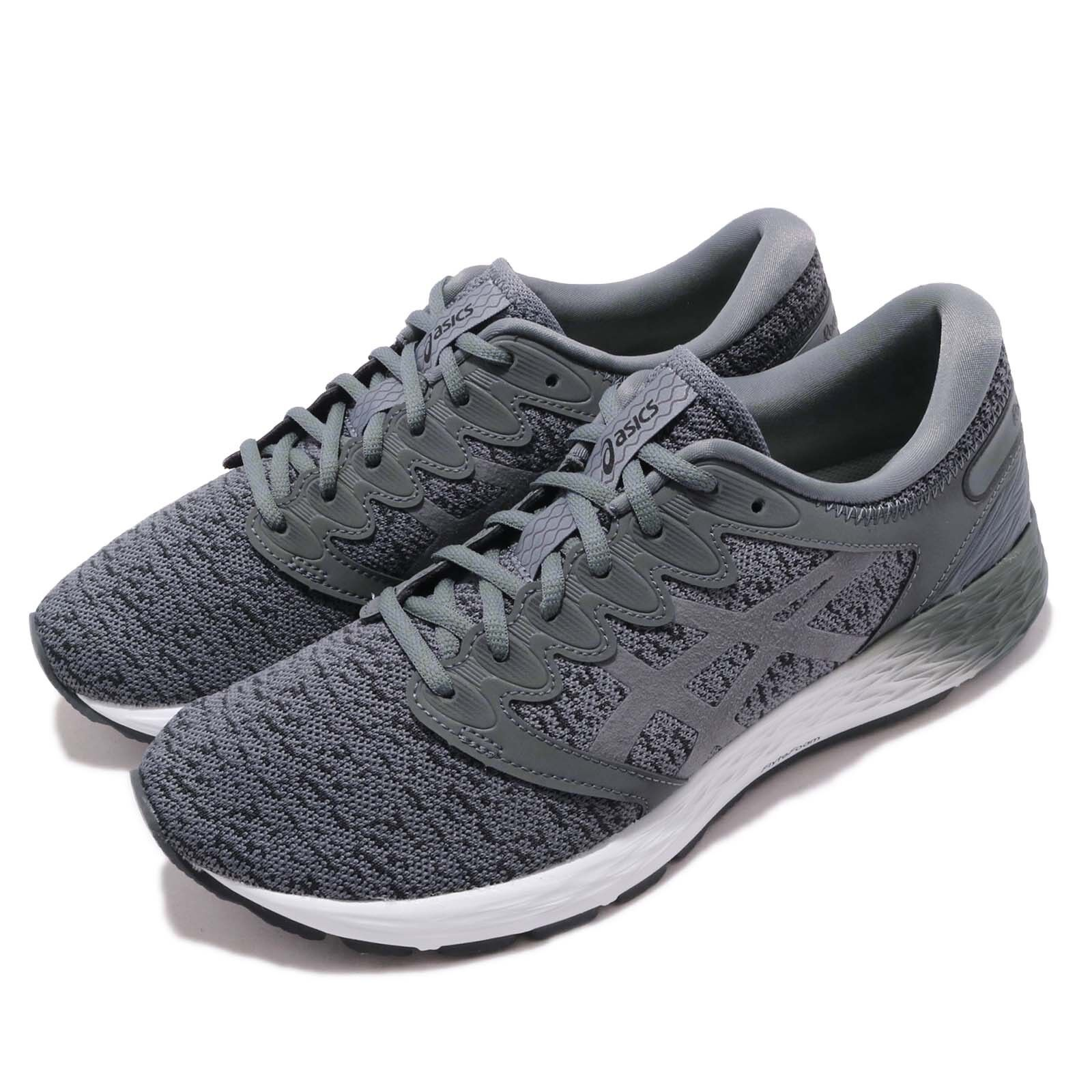 Asics RoadHawk FF 2 MX Grey Men Running Training shoes Sneakers 1011A255-021