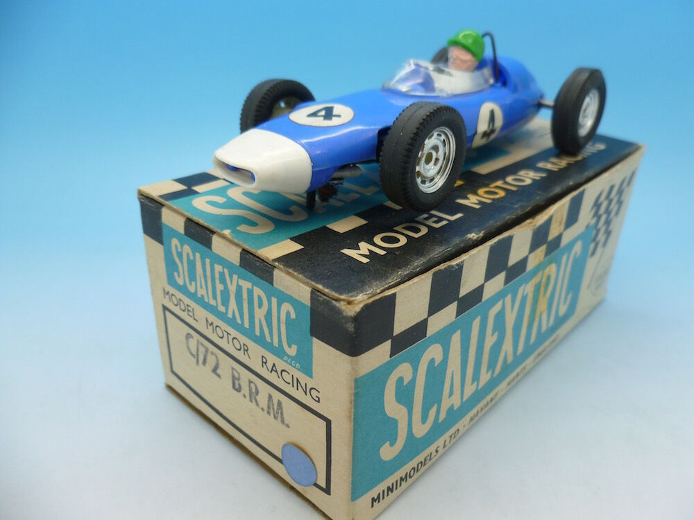 C72 BRM in bluee with white nose, boxed with no inner