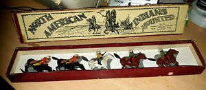 N0-152-Britains-Set-North-American-Indians-Mounted-some-light-repairs-needed