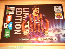 Panini Adrenalyn XL Champions League 2013/2014 - Gerard Pique Limited Edition
