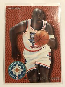 All Star Weekend NBA Basketball Card Fleer  94- 95  22 Mitch ... ccb737f8b