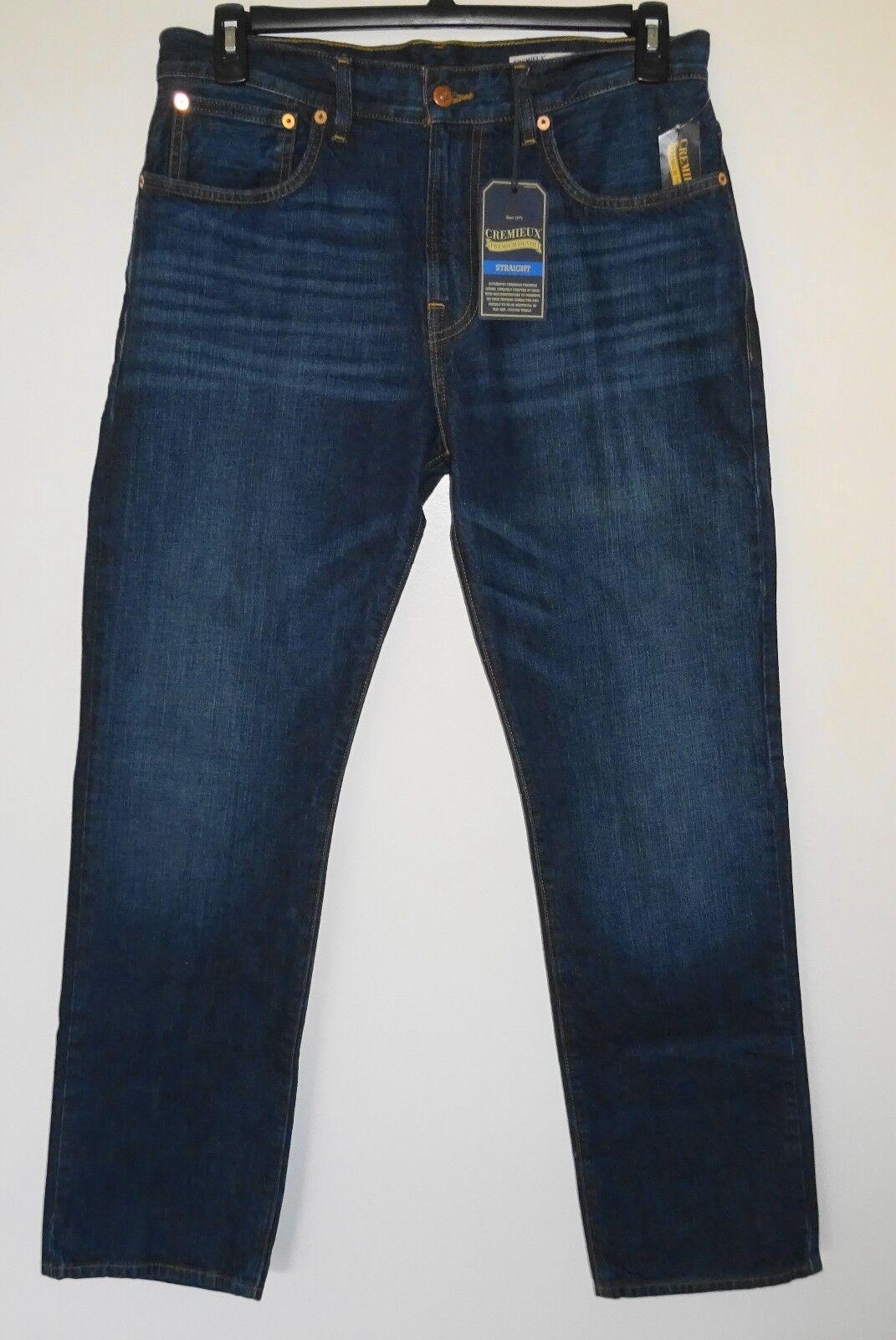 Cremieux Premium bluee Jeans  Original Classic Fit Straight Leg  40x32 NWT ()