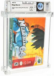 2000 Mega Man 64 Nintendo 64 N64 Video Game WATA 9.0 A Sealed