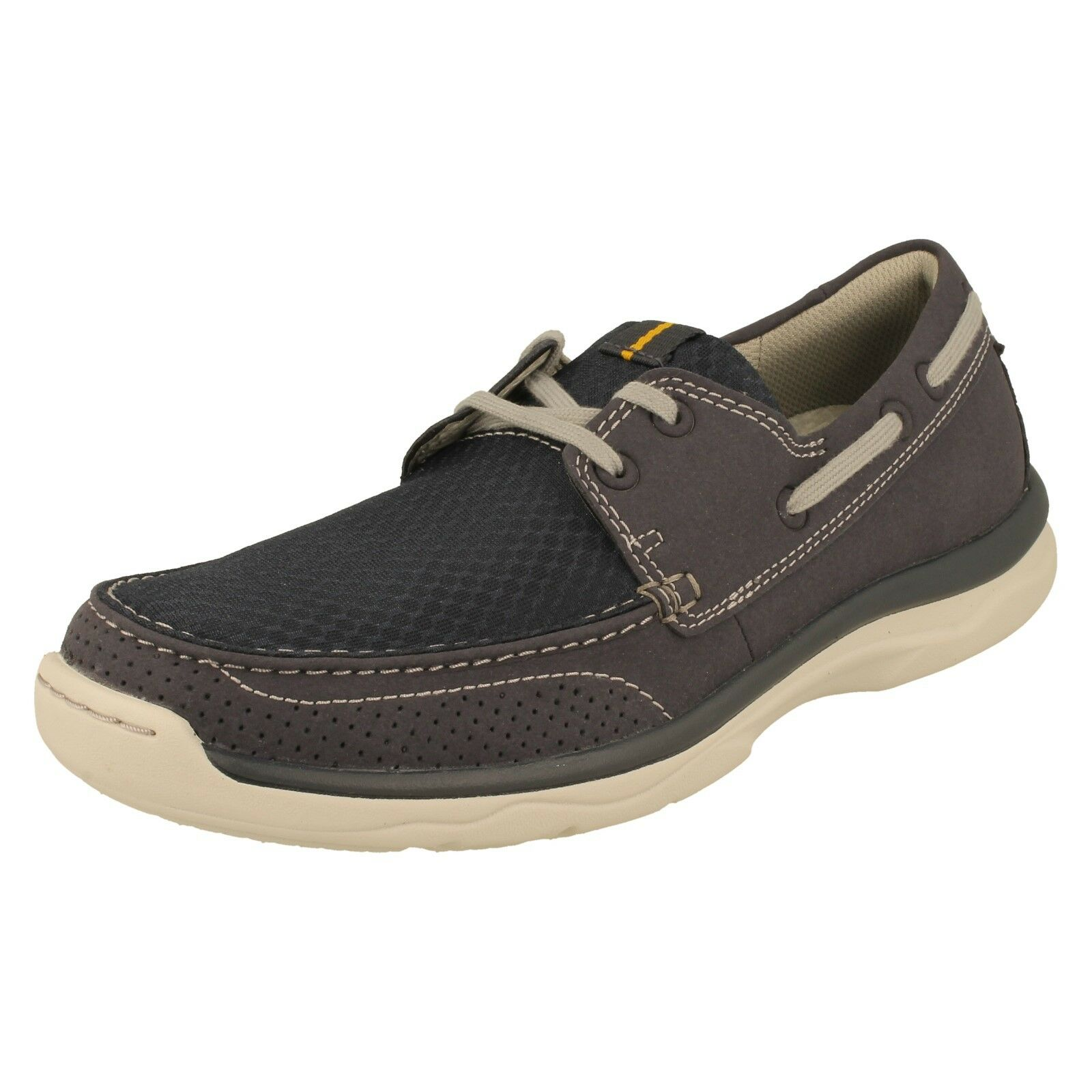 Men's Clarks Casual Lace Up Shoes - Marcus Edge