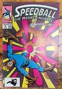 Speed Ball Comic Book Art