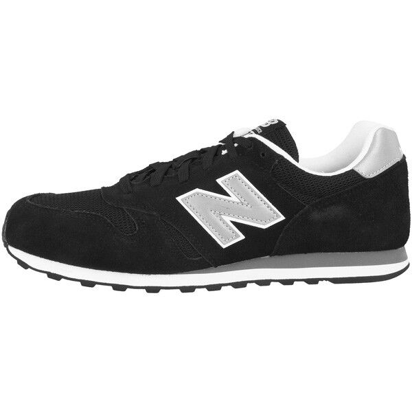 New Balance Ml 373 GRE Chaussures Black Silver ml373gre Grey ml373gre Silver Sneaker Noir Argent 4106ed