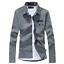 Men-039-s-New-Casual-Stylish-Jean-Denim-Slim-Fit-Long-Sleeve-Shirt-3-Colors-010 thumbnail 11