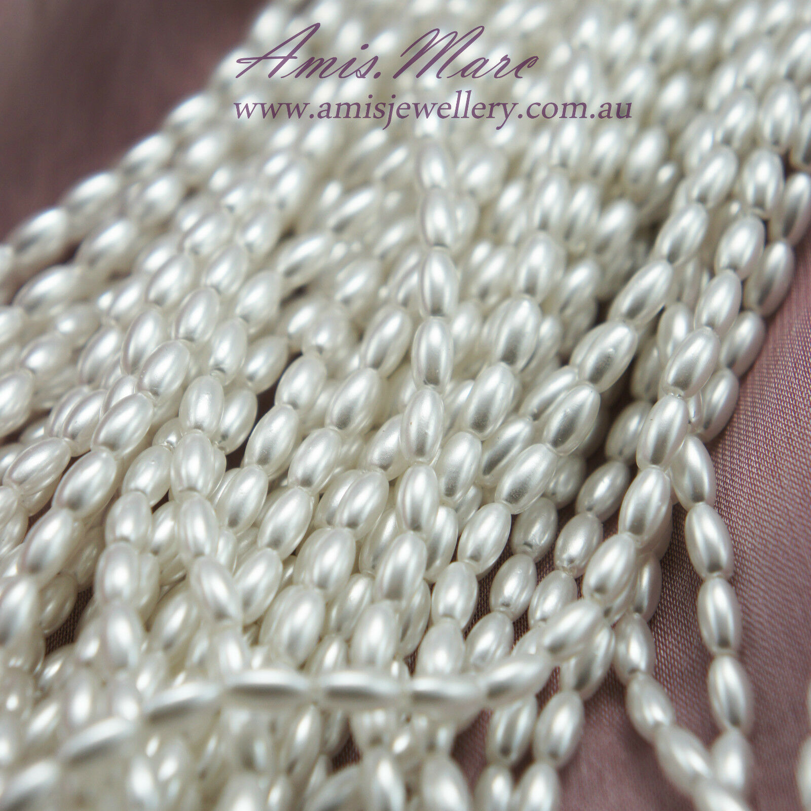 *48beads 8x20mm cream color Imitation Loose Acrylic Tear Drop Pearl Beads*