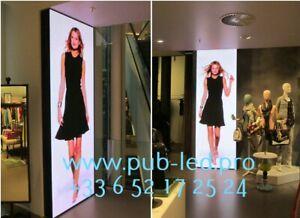 Enseigne Lumineuse LED Écran interne publicitaire P3 programmable