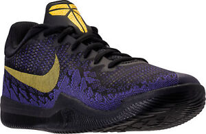0de8c1d7 Nike Kobe Mamba Rage Men's Basketball Shoes Black/Tour Yellow/Purple ...