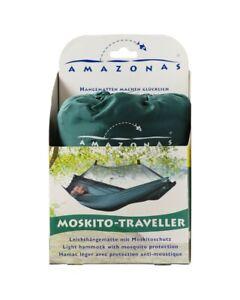 Amazonas Light Mosquito Traveller With Hammock Mosquito Net, Green