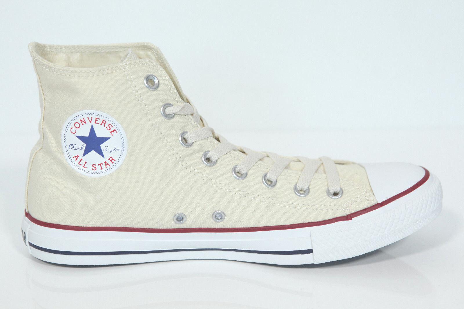 Nuovo tutti estrella Converse Chucks Hi Sautope sautope da ginnastica Ox Bianco-Crema M9162 Gr.46 Sautope classeiche da uomo