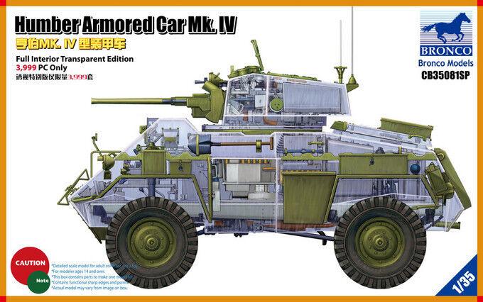 ◆ BRONCO CB35081SP 1 35 Humber Armored Car Mk.IV