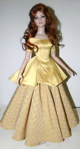 """Memories Dress Doll Clothes Sewing Pattern for 22/"""" American Model Tonner"""