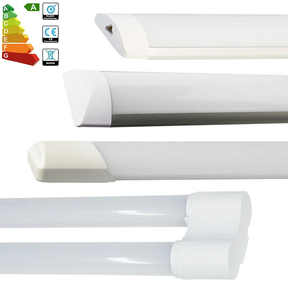 10 4x 4FT 120cm LED Twin Batten Retrofit Tube Light Tri-proof Ceiling Panel Lamp