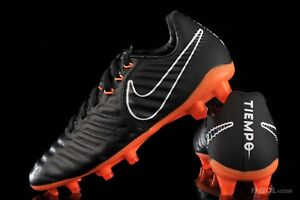 Nike Kids Tiempo Legend VII Elite AH7258 080 Black Total Orange ... f4d229deb2e8