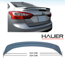 2012-15 Ford Focus Sedan RS Style Rear Trunk Wing Lip Spoiler Unpainted