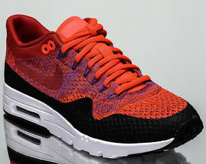 15cff4b21459 Nike WMNS Air Max 1 Ultra Flyknit women lifestyle sneakers NEW red ...