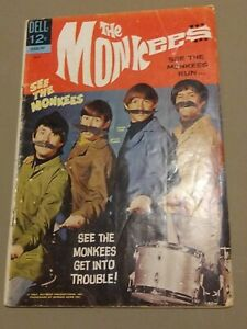 Dell-Comics-THE-MONKEES-July-1967-Issue-3-3-COMIC