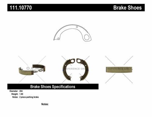 Parking Brake Shoe fits 1989-2012 UD 1800 1800CS 1800HD  CENTRIC PARTS