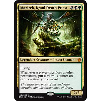 Priest of Titania ~ Commander Anthology ~ MINT//NearMint ~ Magic The Gathering