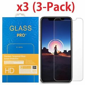 3-Pack-Premium-Tempered-Glass-Screen-Protector-For-Apple-iPhone-X-XS-Max-XR