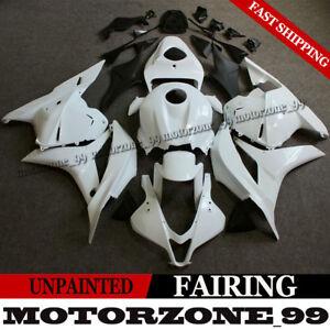 Unpainted-White-Motorcycle-Fairing-Bodywork-Kit-For-Honda-CBR600RR-2009-2012-09