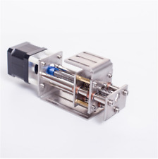 Cnc Z Axis Slide 60mm Stroke Linear Milling Engraving Machine With Stepper Motor