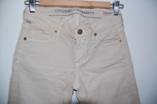 Avedon Humanity Corduroy Basmati Citizens Size 24 Skinny Bukser Luksus of x65wEIqR