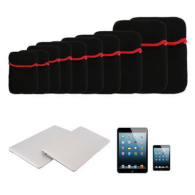 Notebook Laptop Neoprene Sleeve Case Cover Pouch Bag Accessory Pocket lot QX