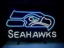 """New Seattle Seahawks NFL Beer Bar Wall Decor Neon Sign 18""""x14"""" Fast Ship"""
