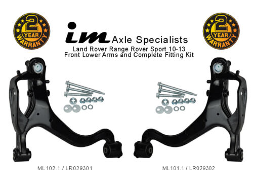 RANGE Rover Sport 10-13 bracci di sospensione anteriore inferiore /& kit di montaggio in