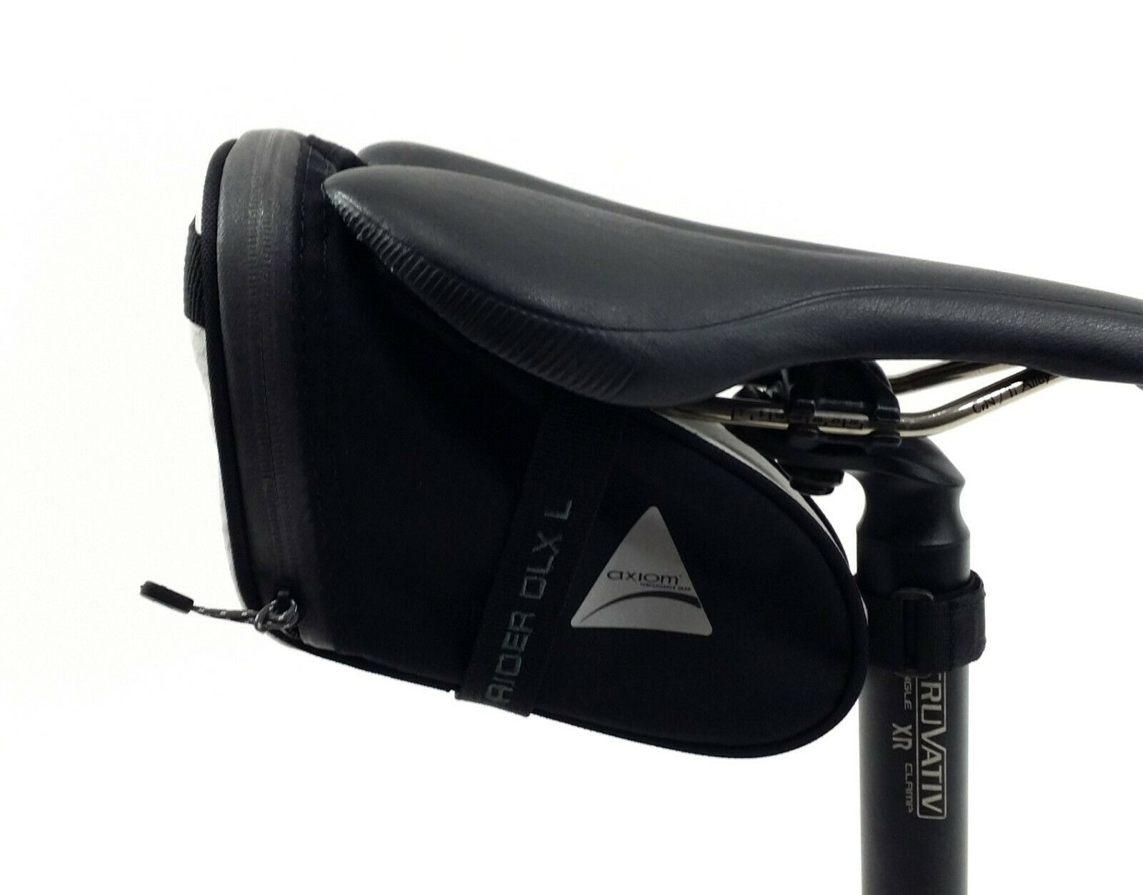 Large LG Red//Black NEW Axiom Rider DLX Bicycle//Bike Seat Bag