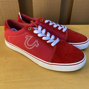 True Religion Sneakers Shoes Suede