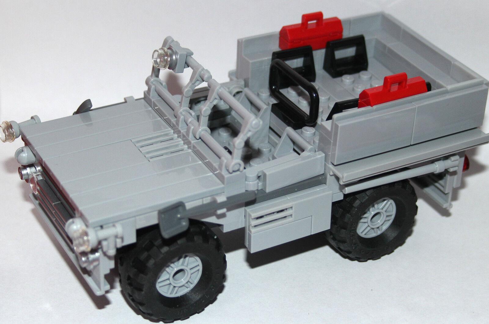 Original LEGO NEW PARTS - off road RECO SAS CAR - PINKIE - my design