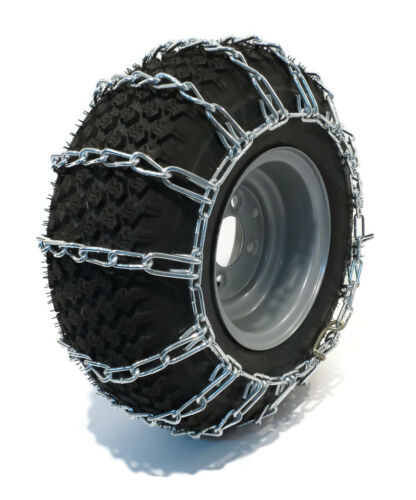 Snowblower Riders New PAIR 2 Link TIRE CHAINS 20x8.00x10 for Garden Tractors