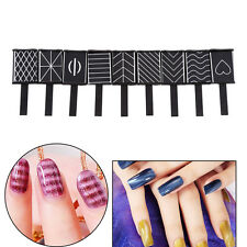 9 Pcs 3D Magnet Magnetic Stick Cat Eye Gel Polish UV LED Nail Art Manicure Tools
