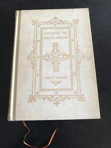 stories-of-the-italian-artists-paper-vellum-circa-1906