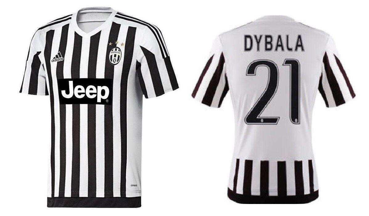 Trikot Adidas Juventus Turin 2015-2016 Home - Dybala 21 [164 bis 3XL] Juve