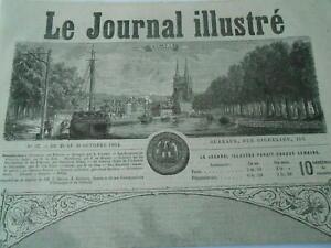 Bien Gravure 1864 - Vue De Quimper Frontispice Les Produits Sont Disponibles Sans Restriction