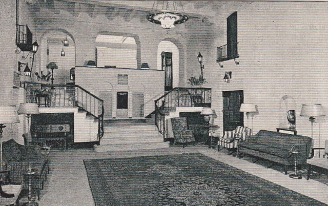 Postcard The New Colonial Hotel Washington DC