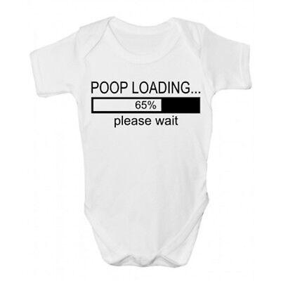 Cacca Di Carico Baby Grow-divertente Abbigliamento Bambini-