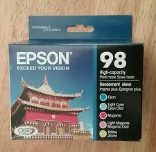 5pk Genuine Epson 98 Color High-capacity Ink_T098920_Artisan 700 710 725 835 810