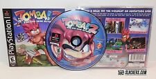 TOMBA 2 The Evil Swine Return (Sony PlayStation 1 2000) Rare COMPLETE!! PSX PS1