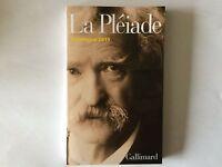Catalogue 2015 La Pleiade Neuf