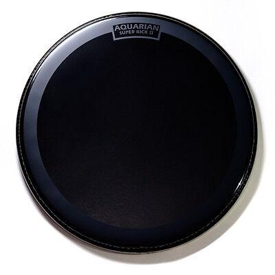 "100% Kwaliteit Aquarian Reflector Bass Drumhead 26"" W/ Superkick Ring - Ref26sk"